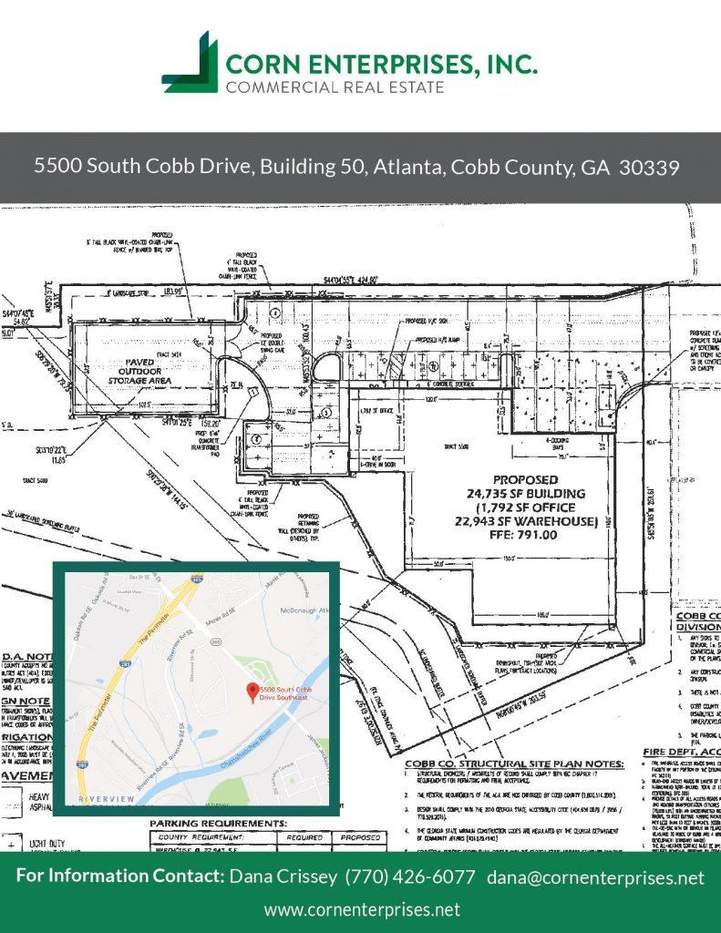 5500 South Cobb Drive, Building 50 | Corn Enterprises